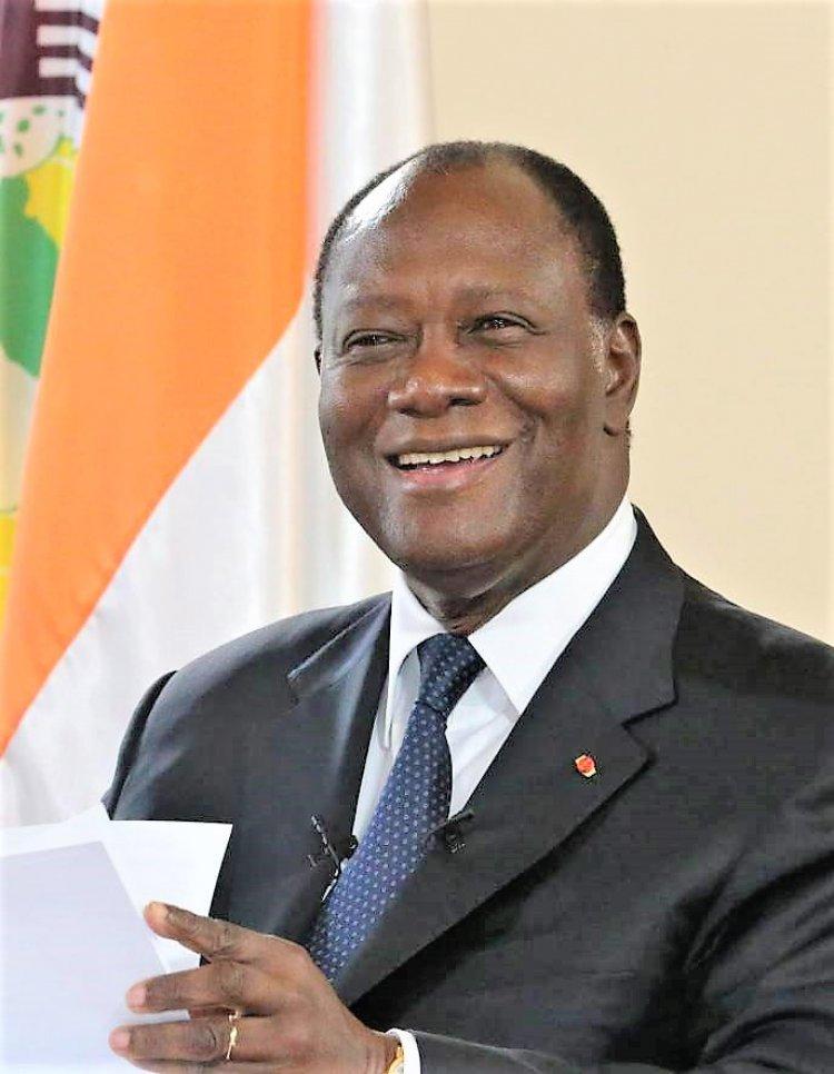 Côte d'Ivoire : Ouattara  « heureux !»