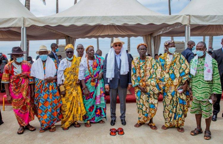 Côte d'Ivoire (Bas-Sassandra) : Patrick Achi aux chefs traditionnels : « Ouattara compte sur vous… »
